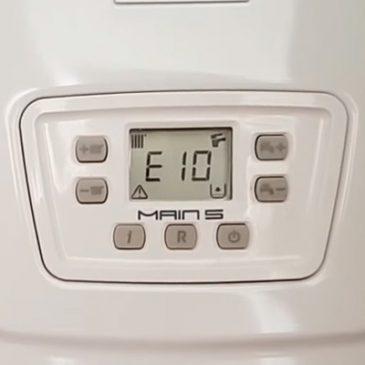 Ошибка e10 у газовых котлов BAXI