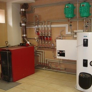 Комбинированное отопление для частного дома