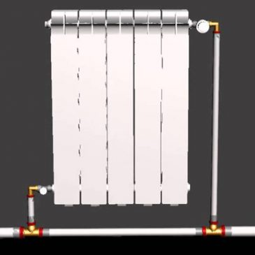 Различие между однотрубной и двухтрубной системой отопления для дома